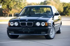 Probably the best and purest BMW of them all. The early 90s 5-series, E34.