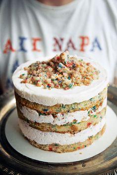 Milk Bar Birthday Cake