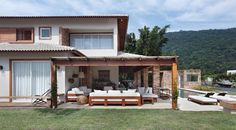 Home Design Decor, House Design, Home Decor, Gazebo, Tropical Houses, My Dream Home, Home Projects, Decoration, Beach House