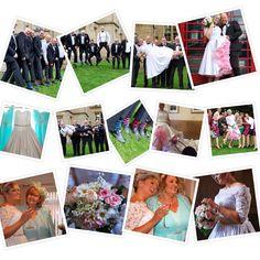 Vintage wedding Leeds town hall Weetwood hall tux tea length dress ping petticoats