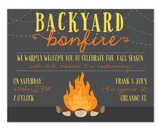 'Backyard Bonfire' by Invitation Consultants