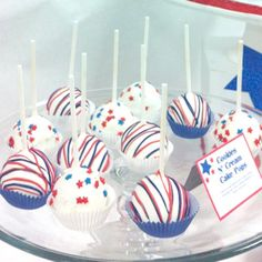 images of patriotic cake pops | Simply Irresistible - Cake Pops & Cookies