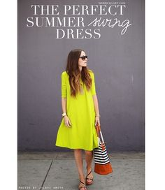 Tutorial: Perfect Summer Swing Dress