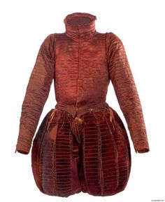 1562 Burial clothes of Don Garzia de' Medici (doublet, hose)