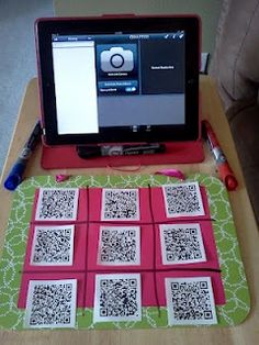 Use QR codes to teach