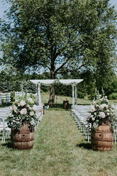 outdoor arbor garland and floral Amazing Floral Moments Outdoorweddingphot #amazing #arbor #floral #garland #moments #outdoor