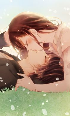 Anime Kiss, Anime Manga, Samurai Love Ballad Party, Voltage Inc, First Kiss, Romance Novels, Anime Love, Seasons, Wallpaper