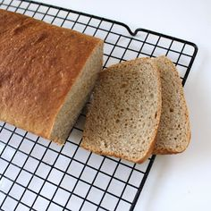Spelt loaves- used rye flour instead and they were wonderfully light