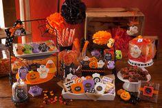 Halloween Cookies 12 Decorated Sugar Cookies by TSCookies on Etsy
