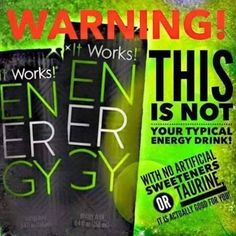 The #Energy has been unleashed and its not your typical #EnergyDrink! sherikmartin.itworks.com