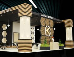 Caria Marble Exhibition Stand Design