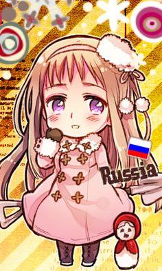 Hetalia/Nyotalia-Chibi Fem!Russia