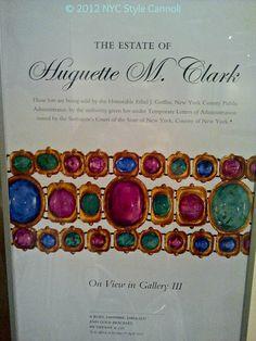Huguette Clark Jewelry Sale