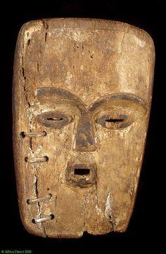 Fang Mask Ngil Society Gabon African Indigenous Repair