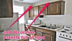 Above Kitchen Cabinets Survival Food Storage Location
