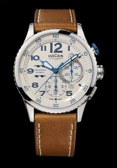 919bb824320d Vulcain - Aviator Instrument Chronograph Relojes Caballero