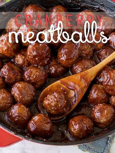 These Cranberry Meatballs with Sour Cream Herb Dip are super simple to make and are bursting with flavor! Perfect appetizer for this holiday season! No Cook Appetizers, Appetizer Dips, Appetizer Recipes, Simple Appetizers, Appetizer Party, Supper Recipes, Sour Cream, Meat Recipes, Cooking Recipes