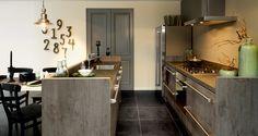 Mooie strakke keuken van Kellerkeukens.nl