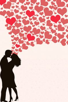 Desenhos dia DOS namorados romântico Fundo cartazes do PSD EM camadas Love Couple Wallpaper, Heart Wallpaper, Love Wallpaper, Couple Silhouette, Silhouette Art, Love Images, Love Pictures, Love Profile Picture, Beautiful Rose Flowers