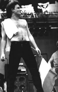 U2 1982 | Bono 1982 Bono with towel - u2 feedback Nagoya, Osaka Japon, Zoo Station, Paul Hewson, Larry Mullen Jr, Bono U2, Adam Clayton, U 2, Soundtrack To My Life