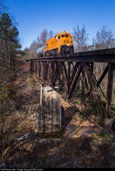 RailPictures.Net Photo: PICK 9508 Pickens Railroad GE U18B at Anderson, South Carolina by Will Jordan