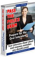 Rated the best police exam study guide for potential police recruits. Look over sample test questions and answers