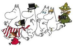 Moomin - The Moomins - Wall Mural & Photo Wallpaper - Photowall Tove Jansson, Moomin Books, Les Moomins, Moomin Valley, Fantasy Fiction, Children's Literature, Little My, Photo Wallpaper, Comic Strips
