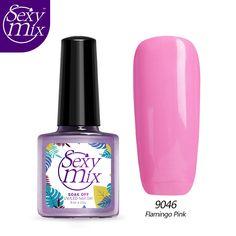 Sexy Mix New Design 9ml Nail Polish Nude Color Gel Polish Soak Off UV Gel Pink Color UV Nail Gel Lacquer Varnish #Affiliate