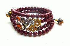 Fall Color Wrap Bracelet