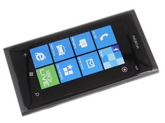The Nokia Lumia 800, The Nokia Corporations's first device powered by Microsoft's Windows Phone 7.5 Mango operating system.