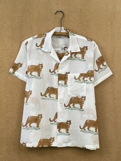 Tiger Tableau Shirt – BODE New York