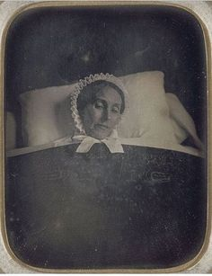 ca. 1850, [post mortem portrait of a woman]