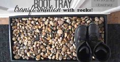 This is not only nicer to look at than the muddy and salty boot tray, but it also helps drain the water a little better and keeps boots dry. See the full tutor…