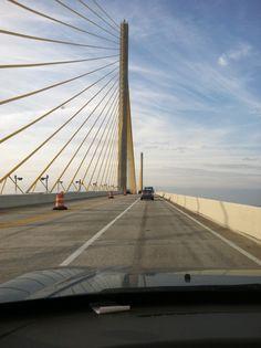 Sunshine skyway bridge, st. Pete, florida