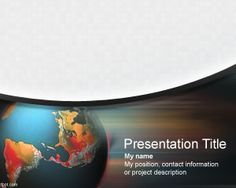 Crisis management international is a free PowerPoint template that you can download for crisis management presentations