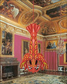 jeff koons lobster at versailles
