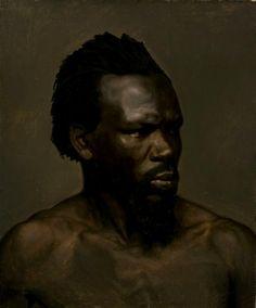 """""""Portrait of a black man""""  Nils Blommér (1816 - 1853)"""