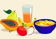 Papinha de maçã, laranja, mamão papaia, banana nanica e pera  Ingredientes  1 maçã pequena ¼ xícara (de chá) de mamão papaia Suco de ½ laranja ½ banana nanica 1 pera pequena  Modo de preparo  Lave as frutas em água corrente e cozinhe no vapor todas as frutas. Ao amolecer, descasque-as, amasse com um garfo e misture tudo com o suco da laranja. Pode-se passar ou não pela peneira.