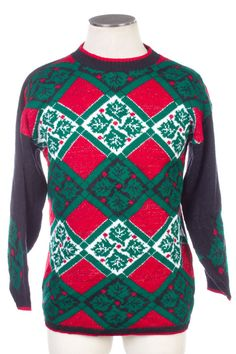 Black Ugly Christmas Pullover 22058