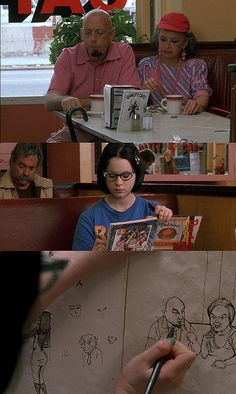 "Ghost World==my life encapsulated (""I'm totally convinced they're Satanists."")"