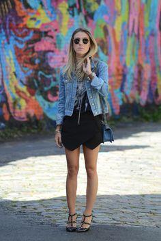 Meu Look: Black & Jeans