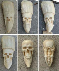 Bone carwing by peter pg gustafsson, pgartworks