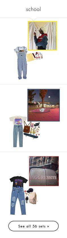 """school"" by hawaiiandreamz ❤ liked on Polyvore featuring adidas, Harrods, Chanel, Avon, Georgia Perry, Monki, Converse, Panasonic, American Apparel and Chicnova Fashion"