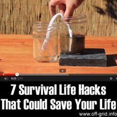 survival hacks, bug out bag, survivalkit, post apocalypse survivor   Photo by:  off-grid.info