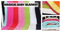 Magical Baby Blanket | AllFreeCrochetAfghanPatterns.com