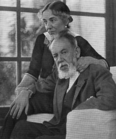 Joaquin Sorolla and his wife, Clotilde. Spanish Painters, Spanish Artists, Artist Art, Artist At Work, Madrid, Portraits, Large Painting, Famous Artists, Les Oeuvres