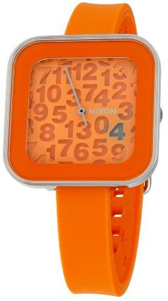ad68aba12 Nixon Womens NXA162877 Rocio Orange Dial Watch ** Details can be found by  clicking on