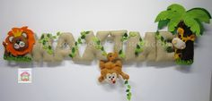 Safari Sign por MySweetfelt en Etsy, €45.00