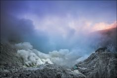 In the crater of the volcano of hell by Michail Vorobyev on 500px
