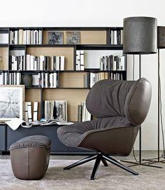 Armchair: TABANO - Collection: B&B Italia - Design: Patricia Urquiola www.meijerwonen.nl www.bebitalia.com #interieur